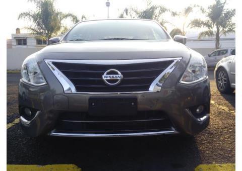 Nissan Versa Advance 2015, excelentes condiciones