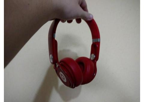 Vendo audifonos Beats Mixr rojos originales