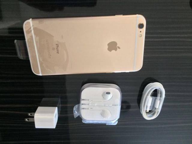 iPhone 6s PLUS 16GB GOLD  LIBRE DE FABRICA, NUEVO , USB CUBO Y AUDIFONOS TODO NUEVO ENTREGAS PERSONA
