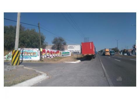 Terreno carretera a Salamanca
