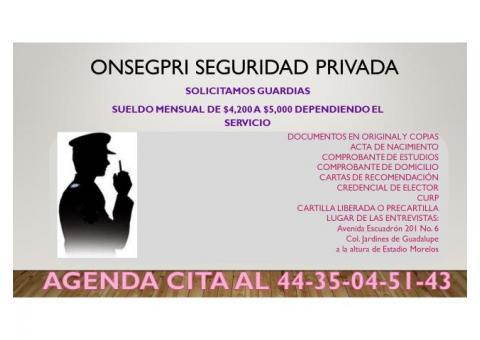 OFICIAL DE SEGURIDAD EN MORELIA Y URUAPAN