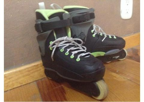 Patines agresivos ajustables (talla 3-6)