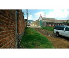Remato terreno escriturado en Patzcuaro.