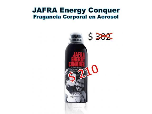 FRAGANCIAS JAFRA EN PROMOCIÓN