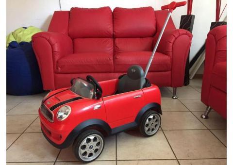 Push Car Mini Cooper Rojo