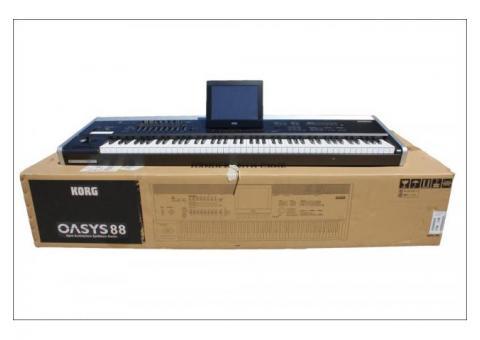 Nuevo sintetizador de música teclado Korg Oasys 88