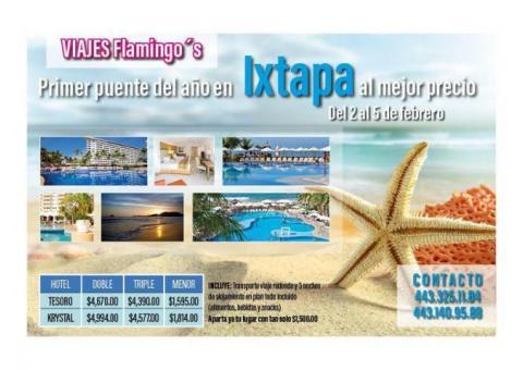Super promoción a Ixtapa!!
