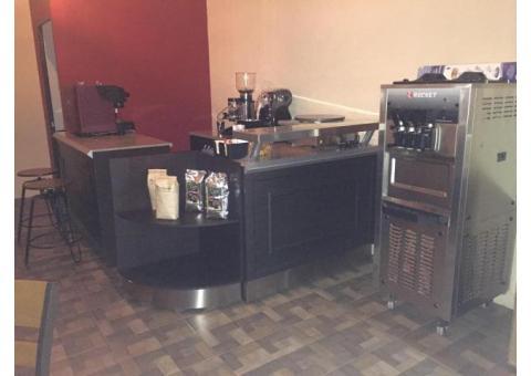 Equipo para cafetería