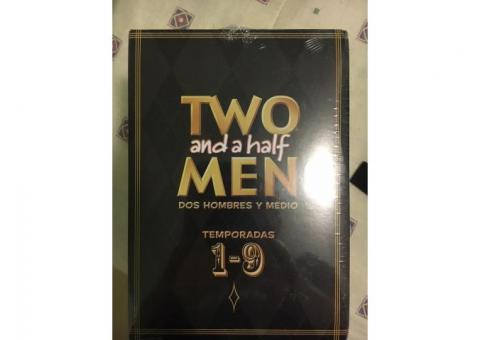 DVD's Serie Two and a half men