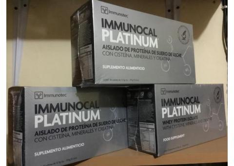 3 cajas de Immunocal Platinum $4,600. Entrega a domicilio en Morelia