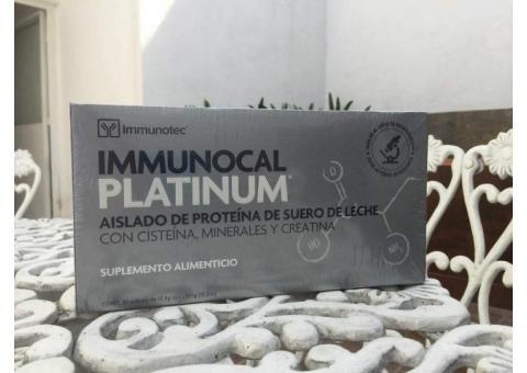 Immunocal Platinum $1,599. Entrega a domicilio en MORELIA