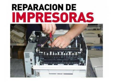 SERVICIO TÉCNICO EN REPARACIÓN Y MANTENIMIENTO PREVENTIVO Y CORRECTIVO DE IMPRESORAS Y COPIADORAS LA