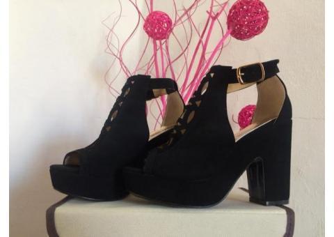 Sandalias Color Negros