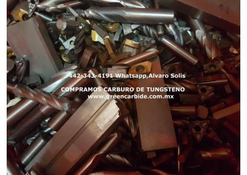 COMPRA PEDACERIA DE CARBURO DE TUNSGTENO EN MORELIA