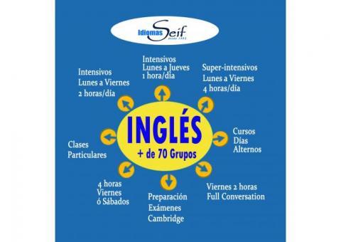 Curso de Inglés Madrid Centro (Descuento Desempleado)