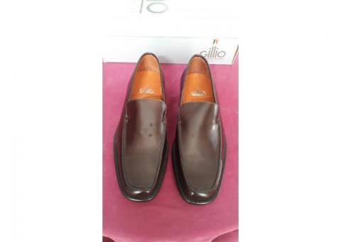 Zapatos Gillio Moka piel vestir tallas 26.5 y 27.5