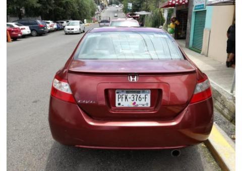Honda Civic Coupe 2008, color Ladrillo