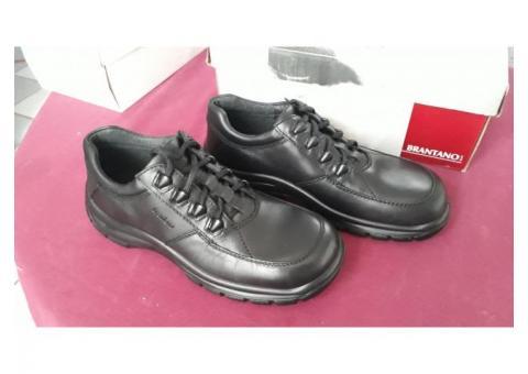 Zapatos casuales Gillio negros piel talla 27.5