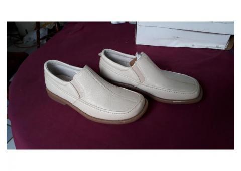 Zapatos casuales Gillio hueso piel talla 29