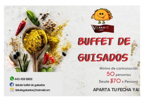 BUFFET DE GUISADOS..!!