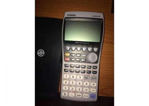 Calculadora graficadora Casiofx9860Gii