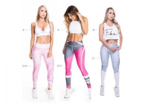 Leggings deportivas colombianas marca FIBER