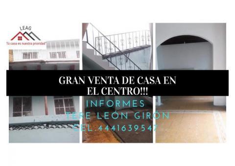 GRAN PROPIEDAD EN EL CENTRO!!!