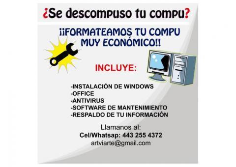 Reparación de Computadoras