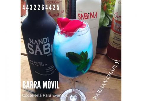 BARRA MÓVIL DE BEBIDAS