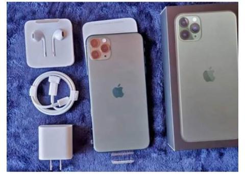 iPhone 11 pro max 256 GB nuevo ...!!!