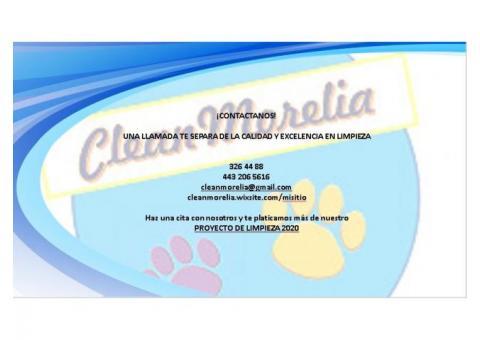 Servicios de Limpieza y Desinfección Clean Morelia