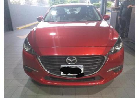 Mazda 3 Sedán 2017, TM