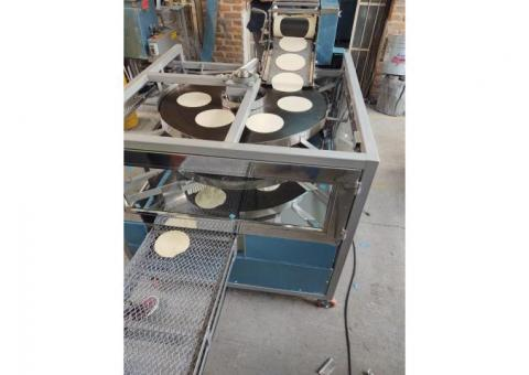 Máquina de Comales redondos de tortillas artesanales
