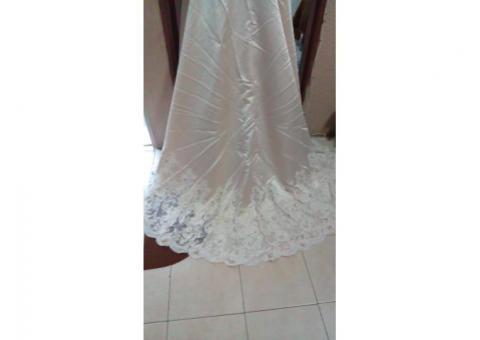 Vendo vestido novia