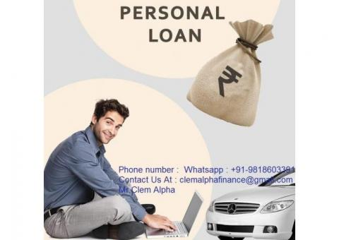 Get loan at 3% rate apply now whatsapp +91-9818603391