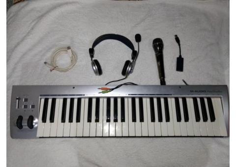 M-Audio KeyRig teclado controlador de 49 teclas, con cable