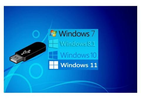 Memoria usb windows booteable todo en uno
